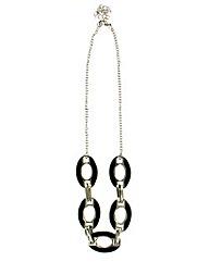 Double Sided Enamel Necklace