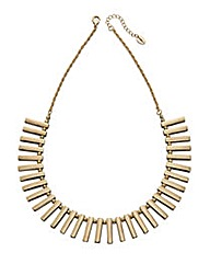 Gold Multi Bar Collar Necklace