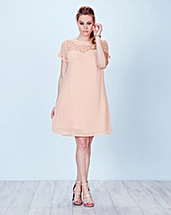 Lace A line Swing Dress