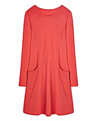 Plain Jersey Swing Dress Tall