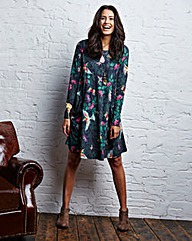 Printed Jersey Swing Dress Tall