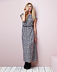 Simply Be Navajo Print Maxi Dress