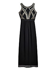 Simply Be Beaded Bodice Maxi Dress