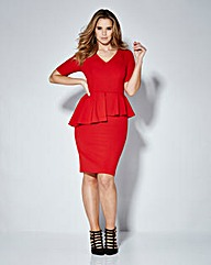 Magisculpt Peplum Dress