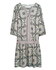 Simply Be Boho Paisley Print Dress