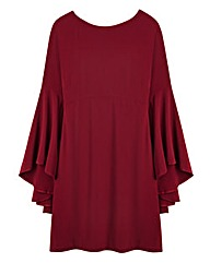 Swing Sleeve Dress-L