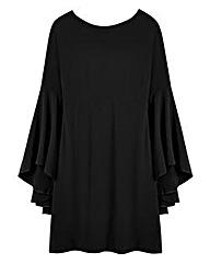 Swing Sleeve Dress - L