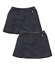 TKD Girls 2Pk Ponti Skirt Gen(7-16 yrs)