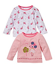 KD BABY Pack of Two Tops