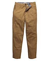 Jacamo Canvas Trouser 33In Leg Length