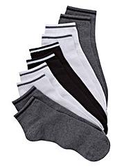Jacamo Pack 5 Trainer Socks