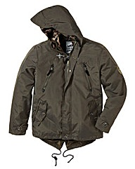 Ringspun Checkpoint Hooded Jacket