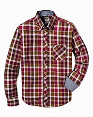 Lambretta Long Sleeve Check Shirt