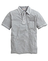 Penguin Earl Grey Polo Shirt Long