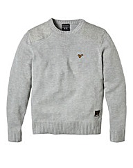 Voi Arrow Crew Neck Knitted Sweater