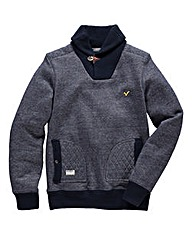 Voi Shawl Neck Sweater