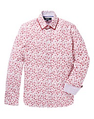 Black Label Floral Print Shirt Regular