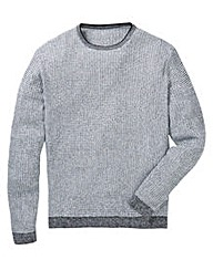 Label J Rib Marl Knit Regular