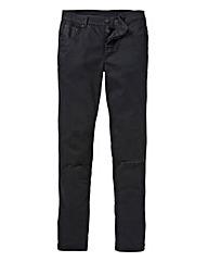 Label J Rip Knee Skinny Jeans 31in Leg