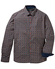 Black Label Tile Print Shirt