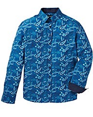 Black Label Bright Paisley Shirt