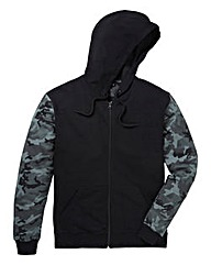 Label J Camo Sleeve Hoody Regular