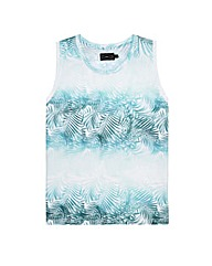 Label J Palm Print Vest Long