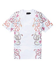 Label J Snake Side Print Tee Regular