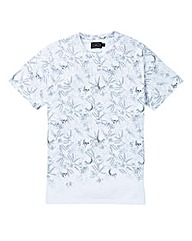 Label J Skulls Print Tee Long
