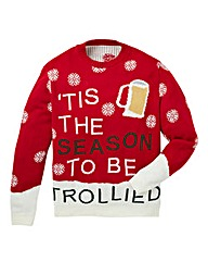 Label J Trollied Christmas Knit