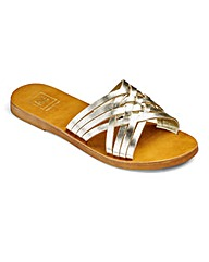 Sole Diva Crossover Sandals