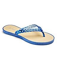 Sole Diva Chain Detail Sandals