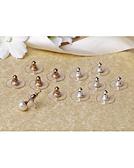 Earring Supports Pack of 8