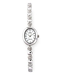 Personalised Ladies Silver Watch