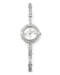 Personalised Silver Ladies Watch