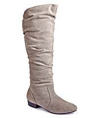 Sole Diva High Leg Boot E Fit Curvy Calf