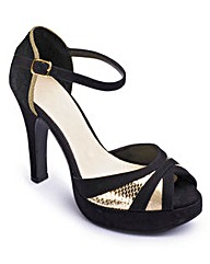 Catwalk Platform Sandals E Fit