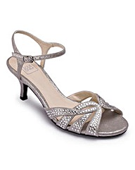Sole Diva Diamante Sandals EEE Fit
