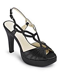 Sole Diva T-Bar Sandals E Fit