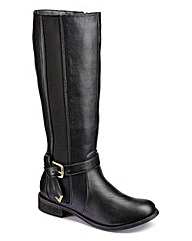 Legroom Elastic Boots Super Curvy E Fit