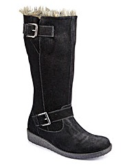 Heavenly Soles Mid Calf Boot E Fit