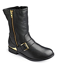 Catwalk Collection Biker Boot E Fit