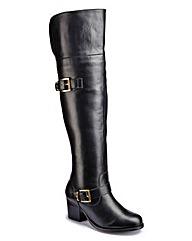 Catwalk Collection Over Knee Boots EEE