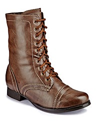 Joe Browns Lace-Up Boot E Fit