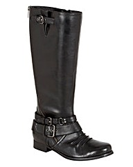 Joe Browns Zip Boot Super Curvy EEE