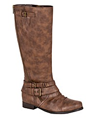 Joe Browns Zip Boot Standard Calf EEE