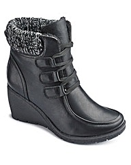 Natures Own Wedge Ankle Boot E Fit