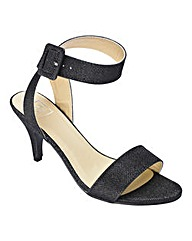Sole Diva Strappy Shoes E Fit
