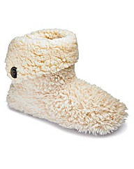 Sole Diva Bootie Slippers EEE