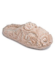 Pretty Secrets Mule Slippers E Fit